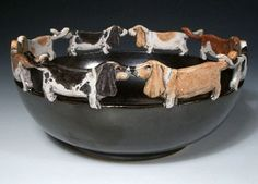nan hamilton,  basset hounds