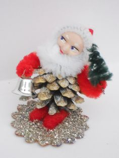 pine cone elf decoration home & living vintage by sundaybestdolls