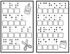 Back to School Braille Activity by Emily Bosl School Stuff, Back To School, Braille Alphabet, Multiple Disabilities, Teaching Career, Forms Of Communication, Special Kids, American Sign Language, Language Study