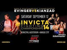 Invicta FC 14: Evinger vs. Kianzad Weigh-in Results   FIGHTBOOK MMA