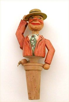 vintage wine stoppers -