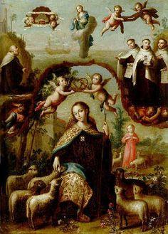 Resultado de imagen para la divina pastora pinterest.com