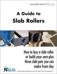 Ceramic Arts Daily – Slab Roller Techniques and Tips: A Guide to Selecting a Slab Roller and Making Slab Pottery Ceramic Techniques, Pottery Techniques, Pottery Tools, Slab Pottery, Ceramic Studio, Ceramic Clay, Ceramic Tools, Slab Roller, Ceramic Arts Daily