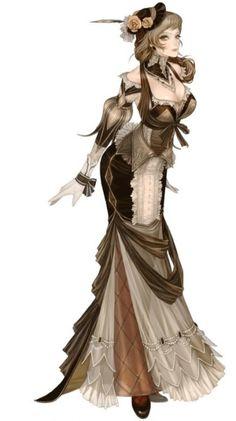 Granado Espada - Maggi  #Steampunk #Victorian #Girl