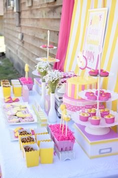 Pink Lemonade themed birthday party via Kara's Party Ideas | KarasPartyIdeas.com (26)