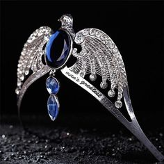 Ravenclaw Lost Diadem Tiara Crown Horcrux Harry Potter Deathly Hallows for sale online Harry Potter Schmuck, Harry Potter Jewelry, Rowena Ravenclaw Diadem, Jarry Potter, Harry Potter Cosplay, Harry Potter Deathly Hallows, Harry Potter Collection, Evil Eye Bracelet, Tiaras And Crowns