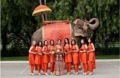 Indian Bridesmaids Suit 2