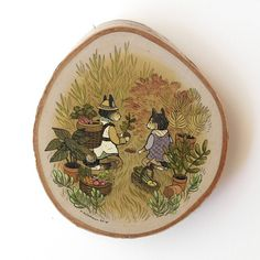 A new mini painting on birch wood disk is now available in my Etsy shop. Inspired by gardening and plants... http://ift.tt/18sBgSQ #nimasprout #nicolegustafsson #etsy by nimasprout http://ift.tt/1Ix1wwP
