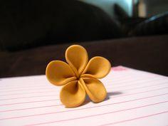 Tutorial: Easy Polymer Clay Flowers