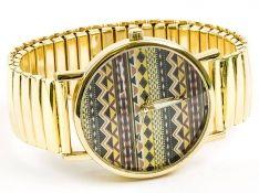 ZEGAREK AZTEC ZŁOTY Bracelet Watch, Bracelets, Gold, Accessories, Shopping, Jewelry, Bangles, Jewlery, Jewels