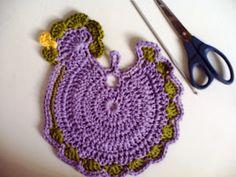Como fazer pegador de panela de crochê passo a passo – Artesanato passo a passo!