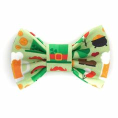 2a62293a6d04 Irish Medley Snap-In Dog Bows® Bow Tie - Dog Bow Tie, Bow Ties For Dogs,  St. Patricks Day Dog Bow Tie, The Best Bow For Your Best Friend