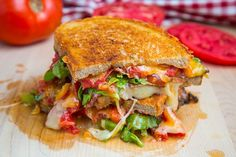 BLT Grilled Cheese (BLTGC) by @Kevin (Closet Cooking)