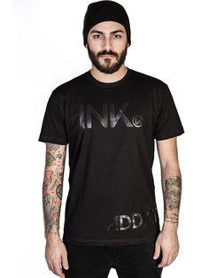 "Men's ""INK"" Black Collection Tee by InkAddict (Black) #InkedShop #menswear #tee #mens"
