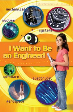 Here's a booklet for kids in grades 3-5 on what it means to be an engineer.