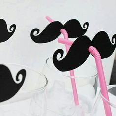 Oh! You 've got a moustache..