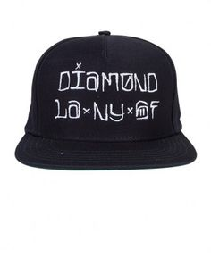 Diamond Supply Co. - Diamond Cities Snapback (Navy) - $40