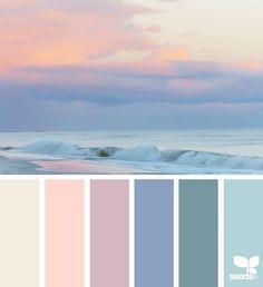 New Bathroom Colors Blue Sea Design Seeds Ideas Colour Pallette, Colour Schemes, Color Combos, Bathroom Colors Blue, Bedroom Colors, Design Seeds, Decoration Palette, Color Swatches, Color Theory