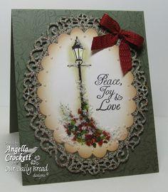Peace, Joy Love = Body Mind Spirit Stamps: