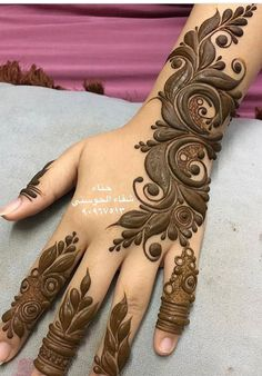 Modern Henna Designs, Floral Henna Designs, Latest Arabic Mehndi Designs, Finger Henna Designs, Mehndi Designs Book, Latest Bridal Mehndi Designs, Mehndi Designs For Beginners, Mehndi Designs For Girls, Mehndi Design Photos