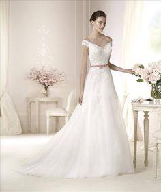 Pronovias White One 2015 collection - Danica. Debras Bridal Shop at ...