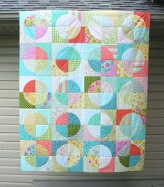 Thanks so much for all the kind comments on my running in circles quilt . I had so much fun making it! It was great to start and finish aqu...