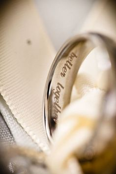 What to engrave on husbands wedding band