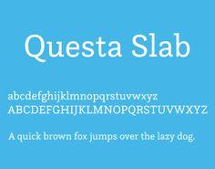 Questa Slab Font Free Download