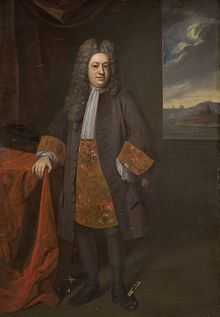 Elihu Yale (April 5, 1649 - July 8, 1721) was born in Boston (moving back to Wales in 1652) to David Yale (1613-1690) and Ursula Knight (1624-1698). Elihu was a Welsh Merchant, Philanthropist, Governor of the East India Co. settled at Madras;also President of Fort George in Madras (1684-1685). In 1718, he became benefactor of Collegiate School of Connecticut in New Haven, later renamed Yale College in his honor.