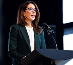 Crown Princess Mary attended Danish National Center for Grief's anniversary conference