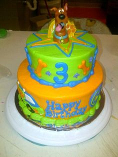 """Scooby Dooby Doo, Where are you?""  Birthday Cake"