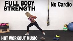 Total Body Strength and Resistance Training HIIT Workout with Weights, N...