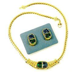 streitstones Schmuckset Kette und Ohrclips vergoldet mit Swarovski Lagerauflösung 50 % Rabatt streitstones http://www.amazon.de/dp/B00T20NNQ2/ref=cm_sw_r_pi_dp_viY6ub1DRQQQ4, streitstones, Halskette, Halsketten, Kette, Ketten, neclace, bling, silver, gold, silber, Schmuck, jewelry, swarovski, fashion, accessoires, glas, glass, beads, rhinestones