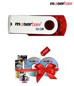 #Moserbaer Swivel #32GB #PenDrive ( 1 Hindi Movie VCD's Free) www.tradus.com/moserbaer-swivel-32-gb-pen-drive-one-hindi-movie-vcd-free/p/PDRMMSA3PVR5ZMRH