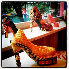 Candy heels (by RSID students via FNO/Dylans Candy Bar/Womens Health