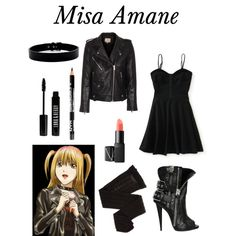"""Death Note// Misa Amane"" by mackenziesfashionsense on Polyvore"