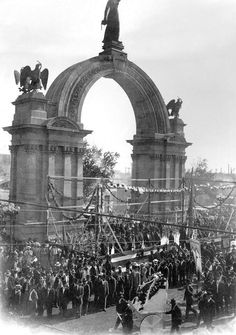 Arco de la Independencia Monterrey Nuevo Leon 1905 Drove by it several times  day...