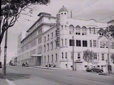 , Sydney, NSW - 1950 Photo the hospital that I was born in shared by the State Library NSW. Surry Hills, Fictional World, Cool Countries, My Collection, Sydney Australia, Historical Photos, East Coast, Old Photos, Scenery