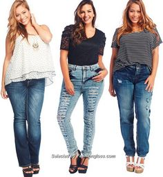how-to-wear-plus-size-fashion-jeans-and-pants-in-2015 (1)