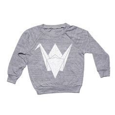 Paper Crane Pullover from Whistle & Flute