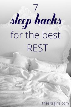 Everything you need to know about falling asleep, and getting the best rest at night.  I love the breathing exercise in # 6. AD #sleephealthy