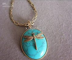 I'm a fan of dragonflies. And turquoise.