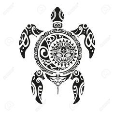 Maori Tattoos, Maori Tattoo Meanings, Tattoos Bein, Tribal Turtle Tattoos, Turtle Tattoo Designs, Polynesian Tattoo Designs, Maori Tattoo Designs, Samoan Tattoo, Tattoos With Meaning