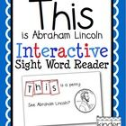 "This is an emergent reader to provide students with an opportunity to learn to read and spell the sight word ""this"" in a hands-on way.  Each page o..."