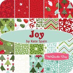 Joy Charm Pack Kate Spain for Moda Fabrics - Christmas Cloth Store