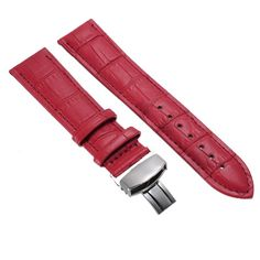 >> Click to Buy << 2017 12MM 14MM 16MM 18MM 20MM 24MM Genuine Leather Alligator Crocodile Grain Watch Strap Band Buckle #Affiliate