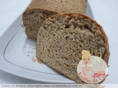 pão integral de máquinha de fazer pão