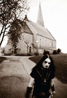 Corpse Paint - True Norwegian Black Metal... burn the church down