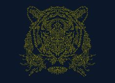 """Ornamental Tiger"" - Threadless.com - Best t-shirts in the world"