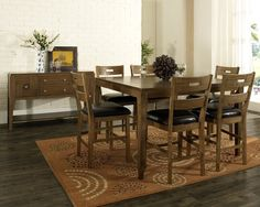 Intercon Bench Creek Dining Set At Daws Home Furnishings In El Glamorous Silver Creek Dining Room Inspiration Design